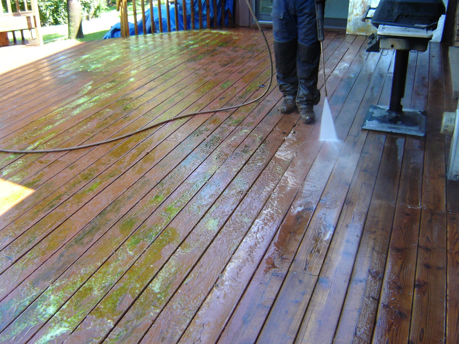 Deck Refinishing Chicago