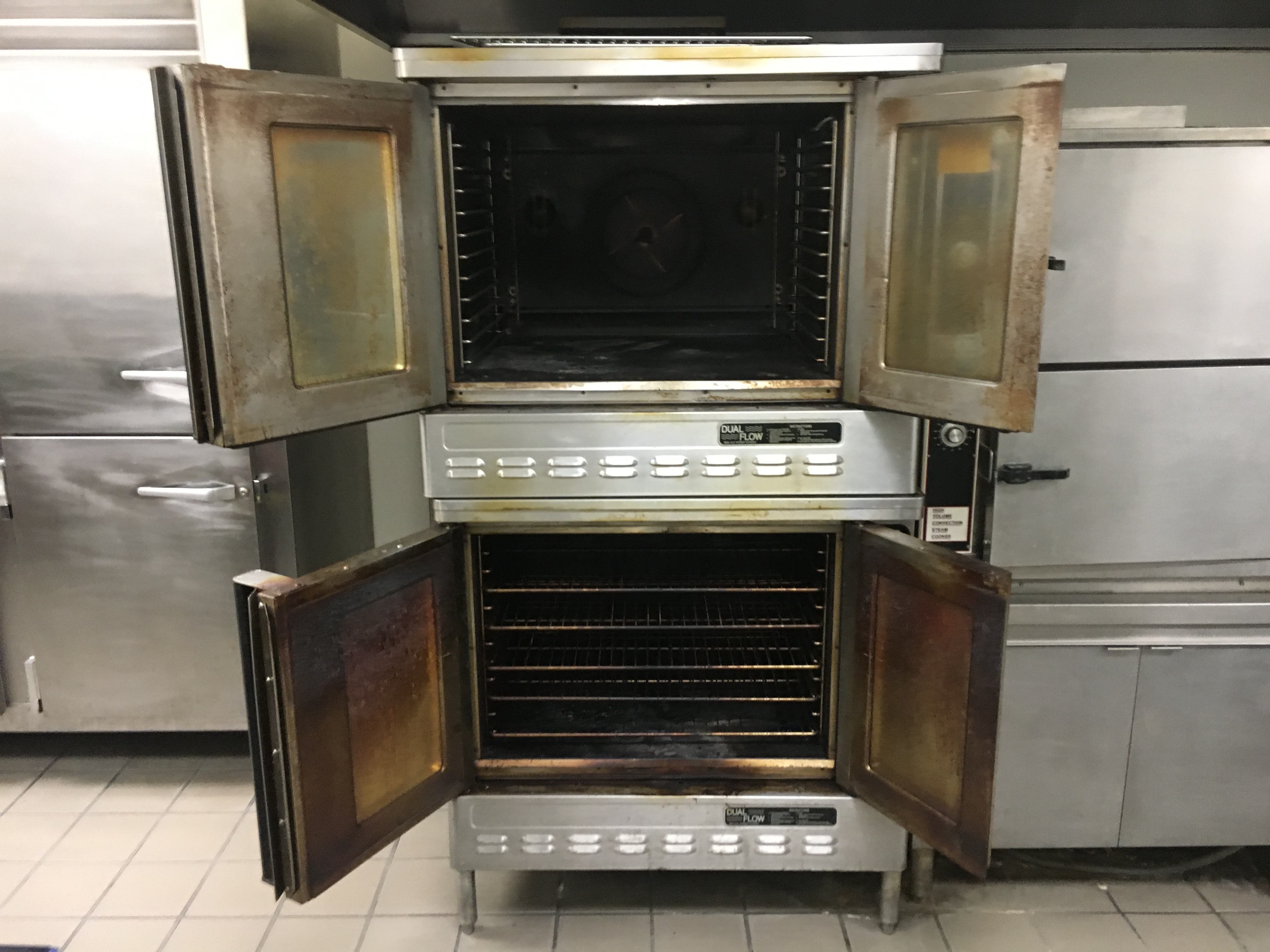 Commercial Oven Cleaning Chicago Before